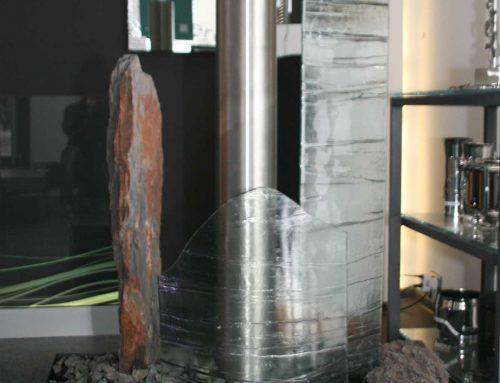 Kunstvoller Zimmerbrunnen