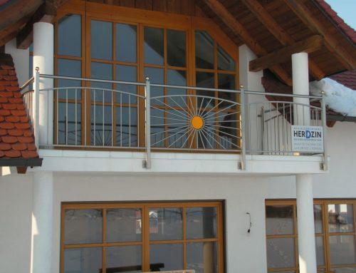 """Balkon """"Sonne"""""""